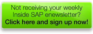 Sign up to the Inside SAP enewsletter NOW!