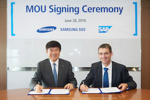 Samsung SDS and SAP collaborate on cloud for APAC customers