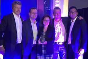 Deloitte receives gongs at SAP FKOM